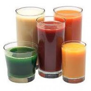 Tasty Glasses of Healthy Juice